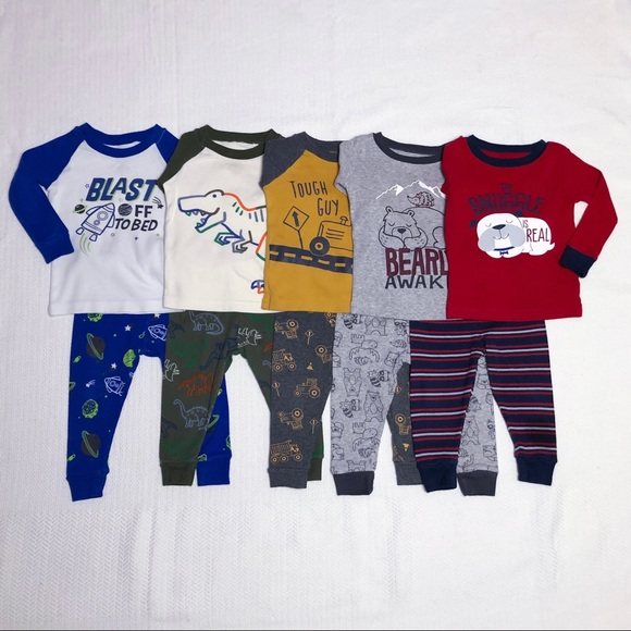 Boys' 10-Piece Pajama Set READ DESCRIPTION